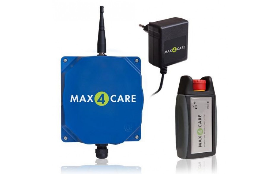T2-IG-230V-INCL | MAX4CARE compleet (incl. sirene/alarmbox)