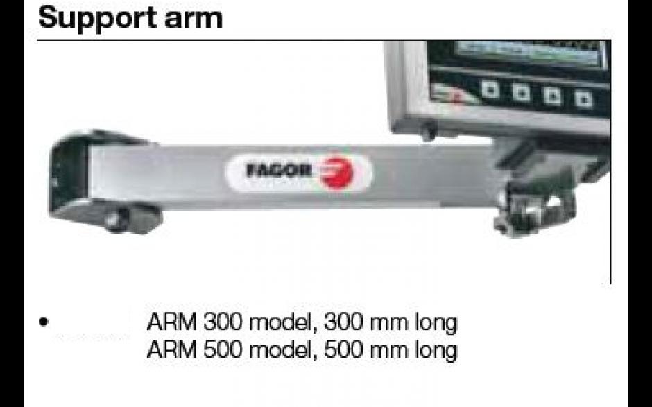 ARM-500 | FAGOR Tellersteun L=500mm