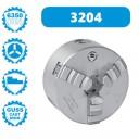 3204-500 | BISON ZELFCENTRERENDE 3-KLAUW 500 MM GIETIJZER DIN 6350