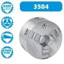 3504-250 | BISON ZELFCENTRERENDE 3-KLAUW 250 MM STAAL DIN 6350