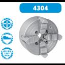 4304-250 | BISON ONAFHANKELIJKE 4-KLAUWPLAAT 250 MM (GIETIJZER) PASRAND MONTAGE
