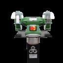 SLIBETTE 8 N | KEF WERKBANKSLIJPMACHINE 200x30x20 MM 400V/0,83kW ...inclusief zuil/sokkel en waterbakje