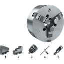 3544-400-11 | BISON ZELFCENTRERENDE 3-KLAUW 400 MM STAAL CAMLOCK D1-11 (DIN 55029)